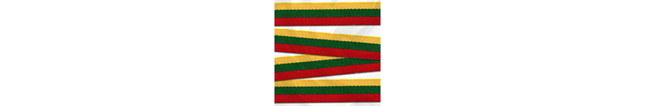 Lietuvos trispalvės juostelės