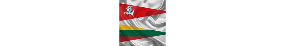 Vimpelai ir trikampės vėliavos
